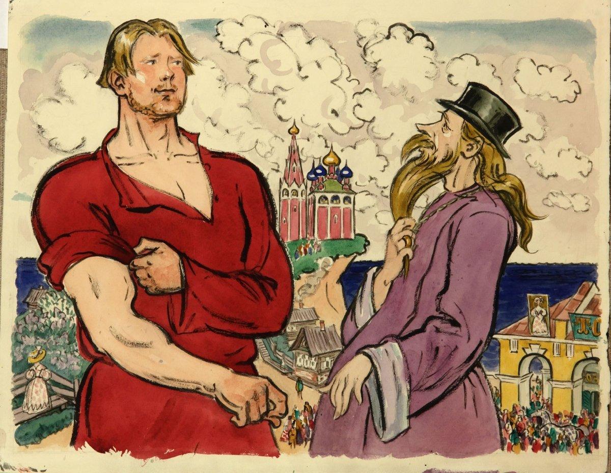 Выставка «Сказки Пушкина»