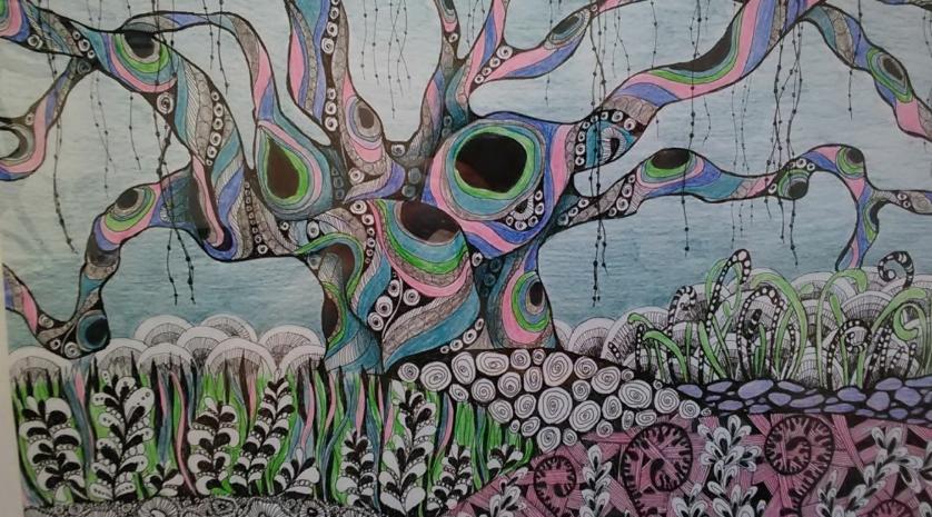 Выставка графики Ольги Новоселовой «Бесконечные сны»