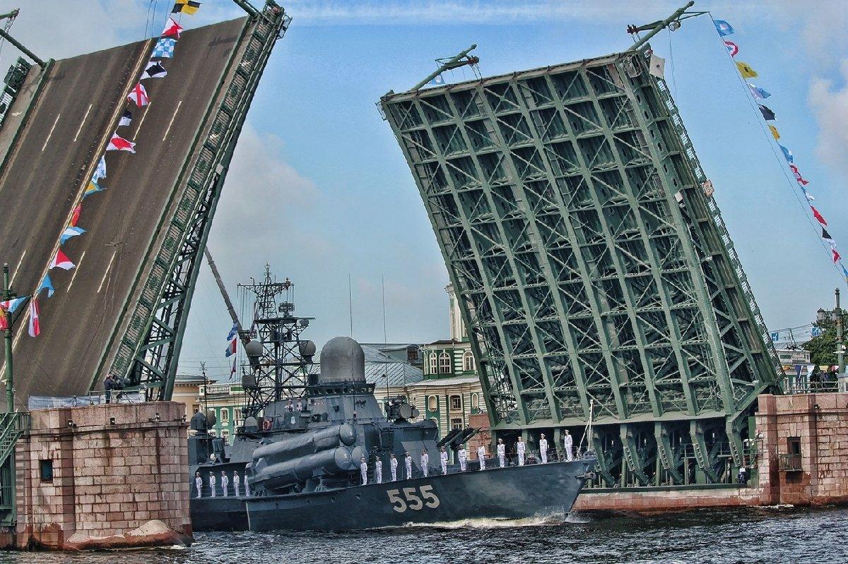Подготовка кВоенно-морскому параду 2020