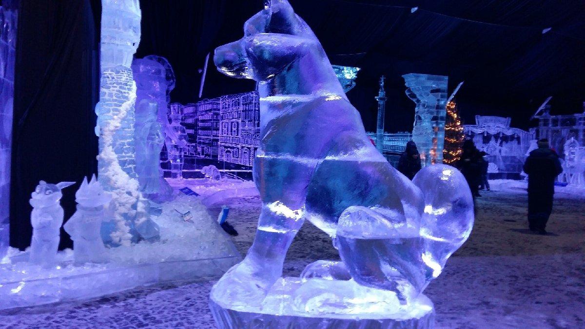 29 Ледяные скульптуры в СПб 2018  2018