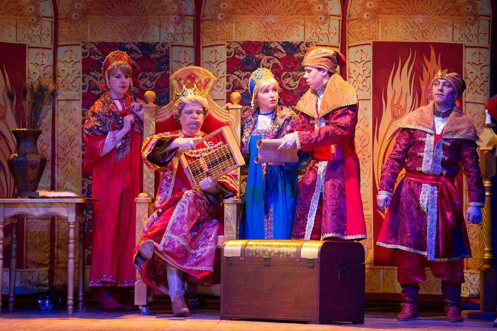 Мюзикл для детей ивзрослых «Иван даМарья или Как Баба Яга Кикимору замуж отдавала»