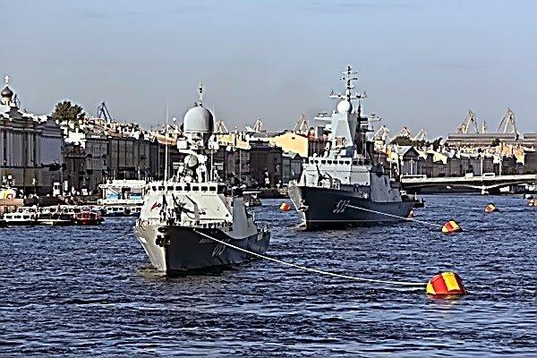 День Военно-Морского флота вСанкт-Петербурге 2016