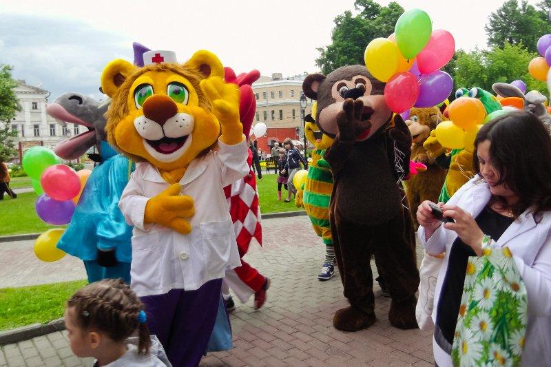 Фестиваль ростовых кукол «Союз Мультфильмов» 2016