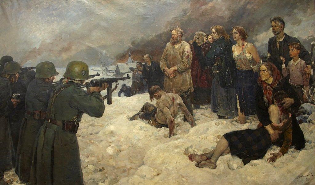 Выставка «В тылу врага. Партизаны иподпольщики вгоды Великой Отечественной войны»