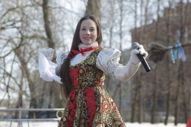 Масленица вПарке Культуры иотдыха имени Бабушкина 2017