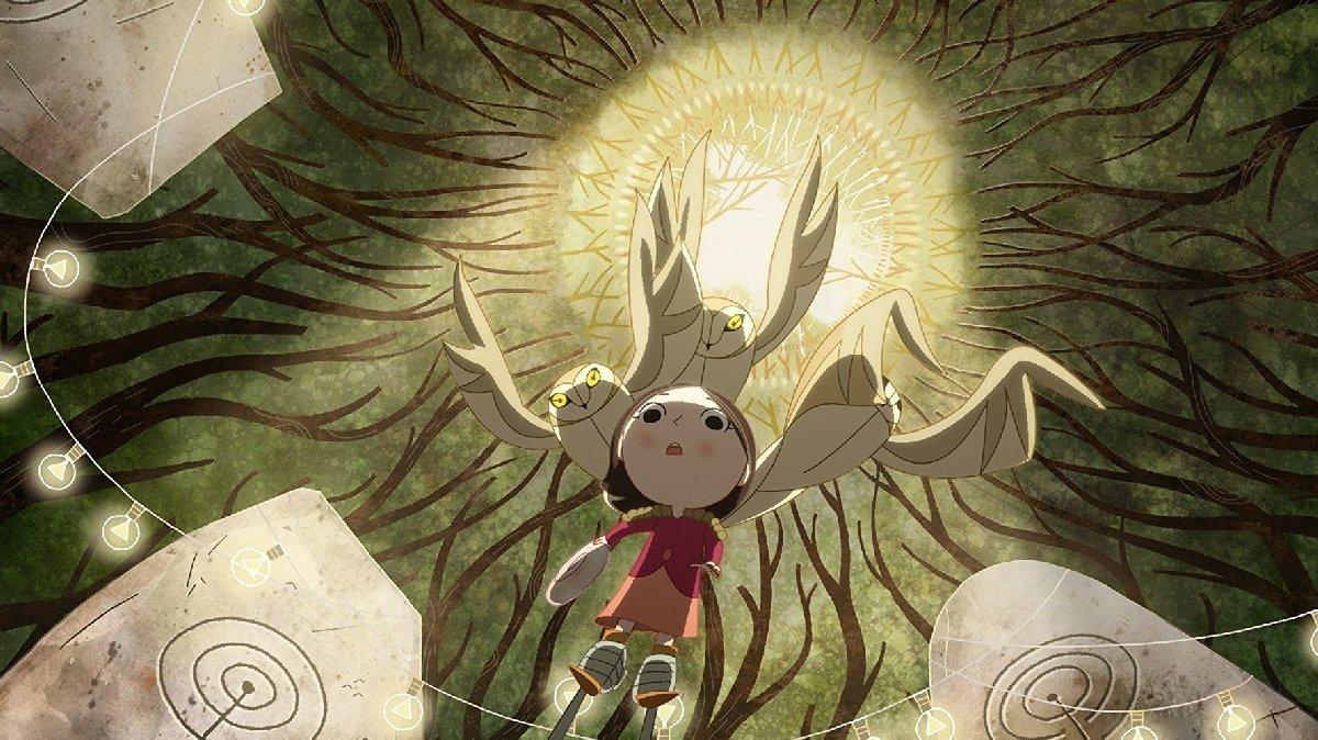 Показ ирландского мультфильма «Песнь моря»