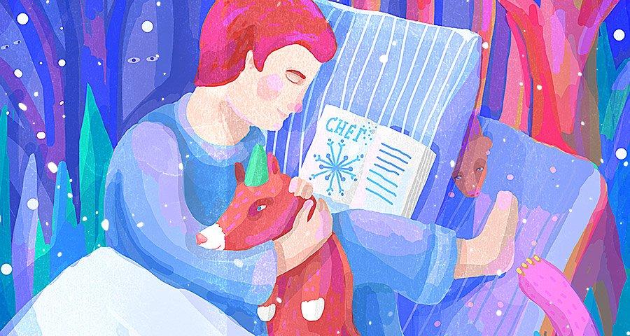 Детский спектакль «Снег»