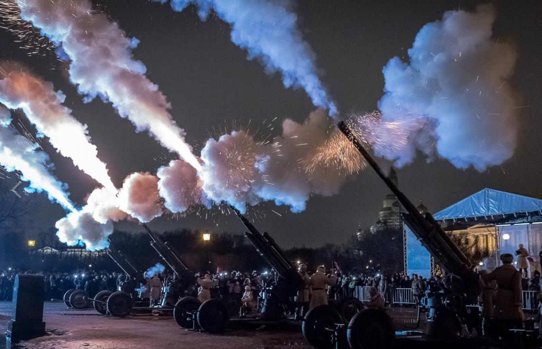 Реконструкция «Ленинградский салют» 2020