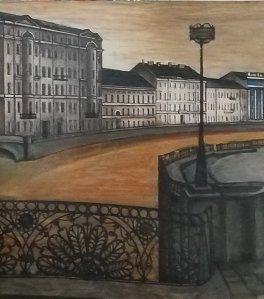 Выставка «Санкт-Петербург. Белые ночи. Пейзажи»