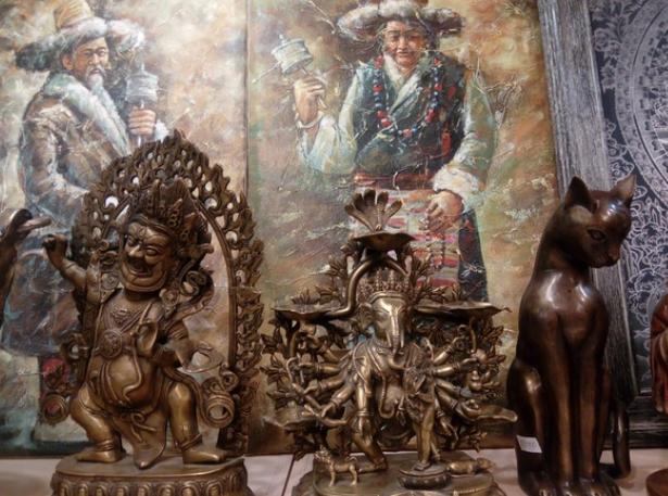 Выставка «Декоративно-прикладное искусство Непала иТибета»