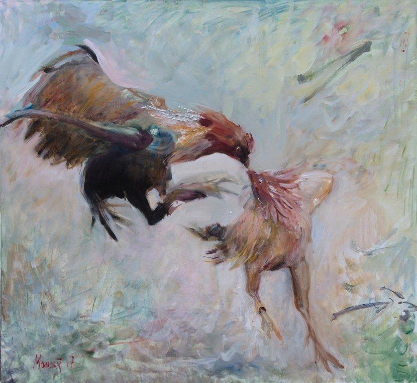 Выставка «Петушиный бой»