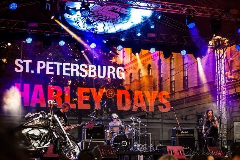Фестиваль «St.Petersburg Harley® Days» 2016