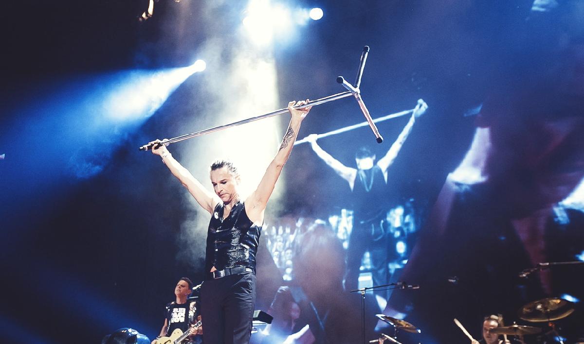 Концерт группы «Depeche Mode» вСанкт-Петербурге