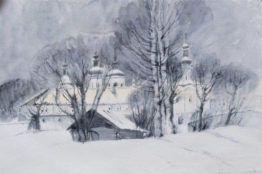 Выставка «В белоснежной тишине»