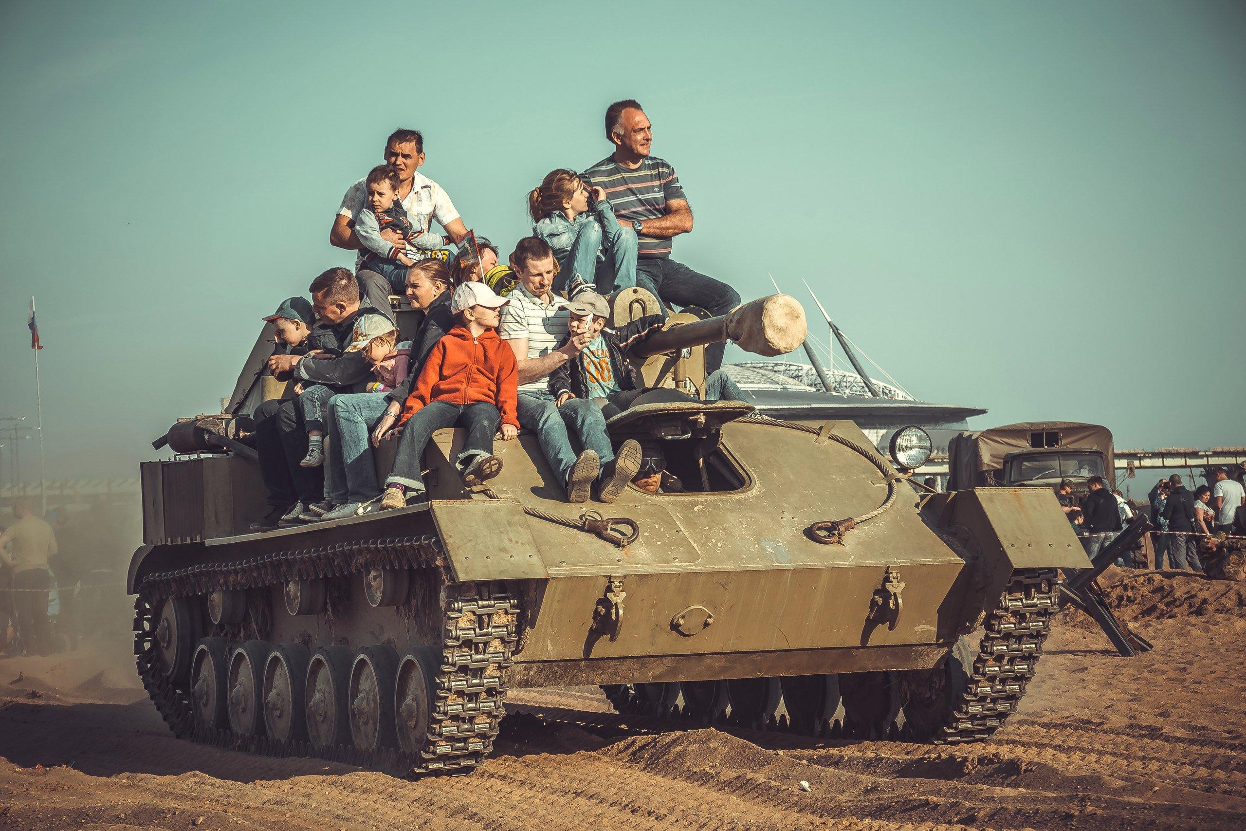 Осенний танковый фестиваль «Боевая сталь» 2016