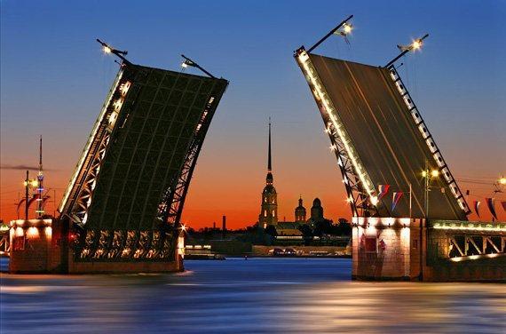 График развода мостов Санкт-Петербурга на2016 год