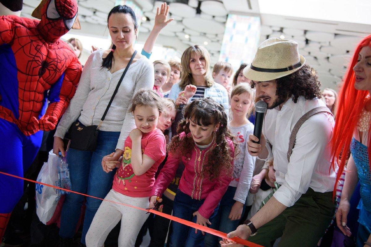 Открытие семейного парка активного отдыха «Joki Joya» наВасильевском острове