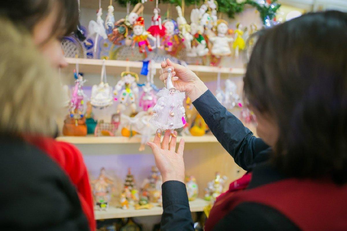Рождественская ярмарка вПассаже
