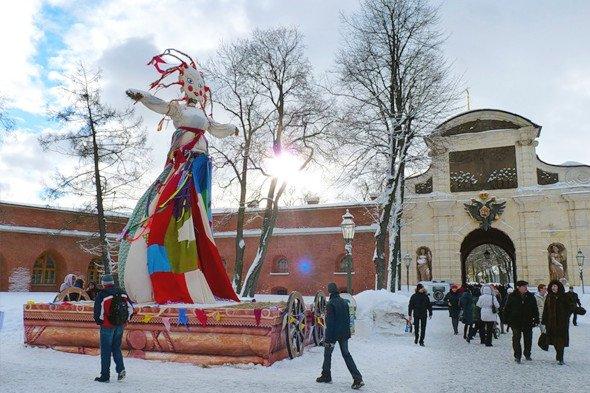 Городской праздник «Широкая Масленица» вПетропавловской крепости 2019