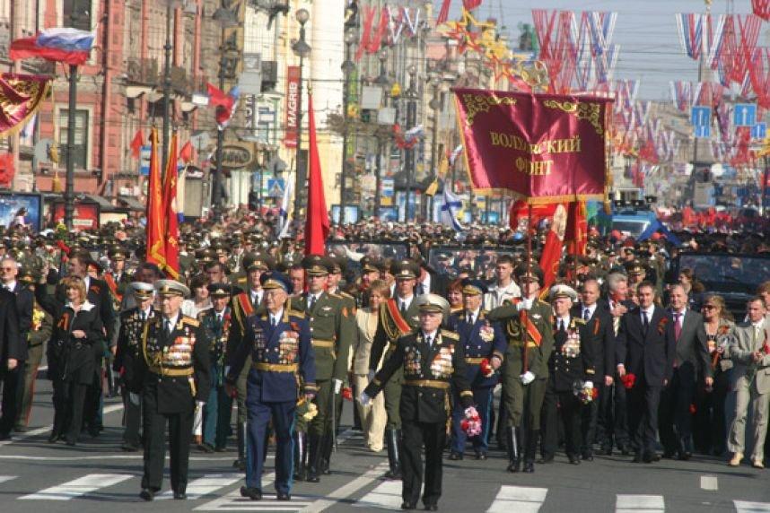День Победы вПетродворцовом районе 2016