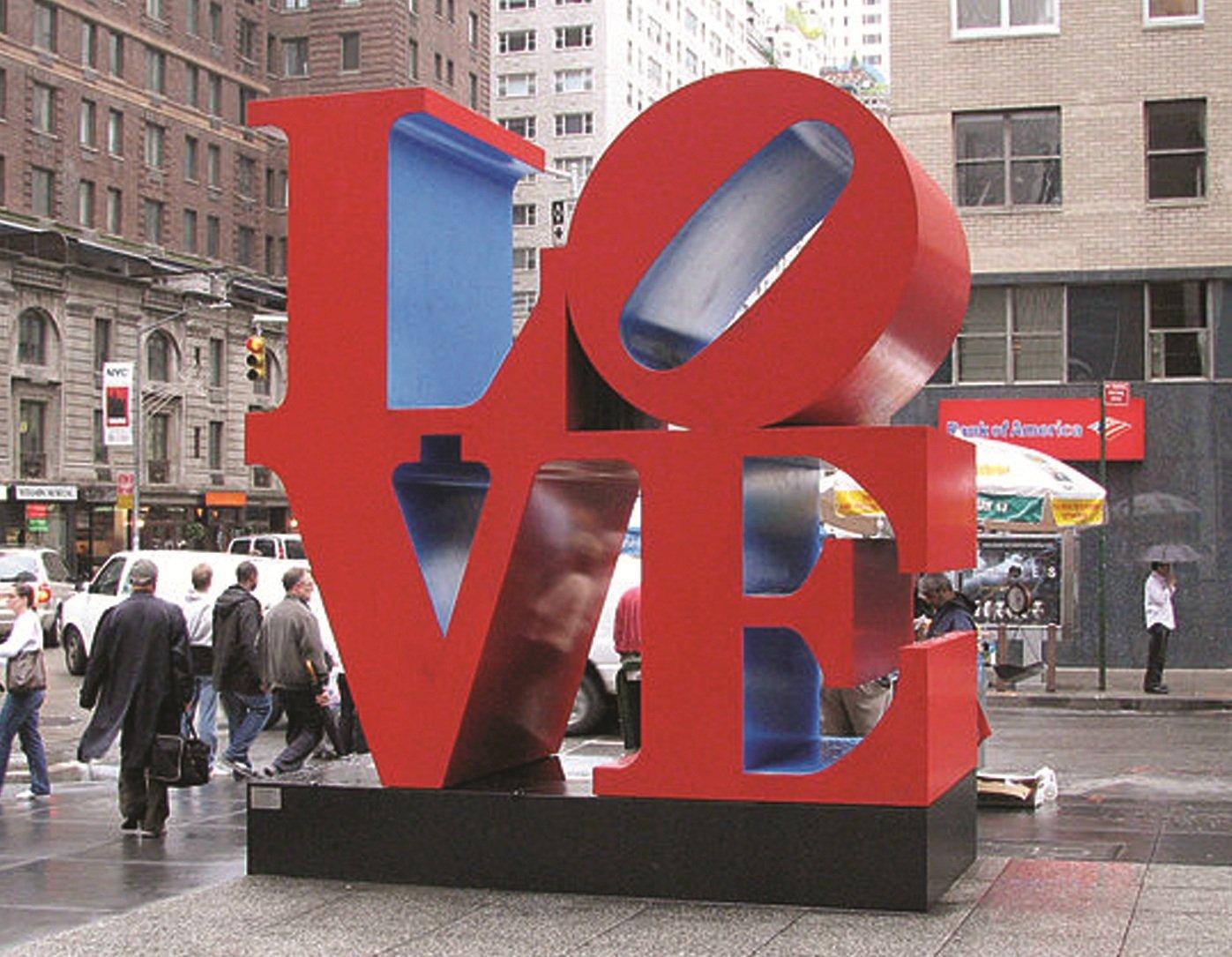 Выставка «Роберт Индиана. К50-летию LOVE»