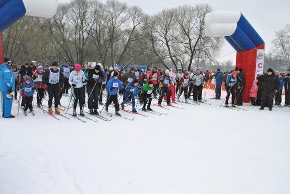 Массовая лыжная гонка «Пушкинская лыжня— 2019»