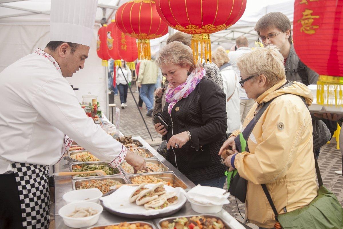 Санкт-Петербургский фестиваль национальных кухонь 2017