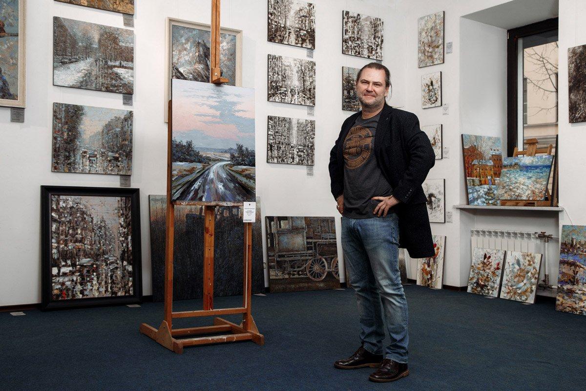 Рождественская выставка вГалерее Кустановича