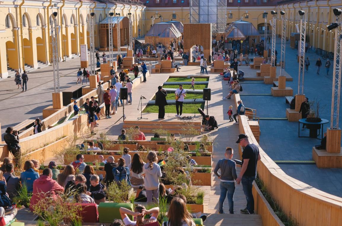 Большой open-air фестиваль болельщиков «Наши Парни»