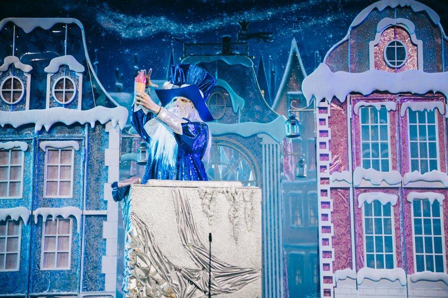 Новогодняя сказка «Волшебное мороженое или впоисках Снежной Королевы»