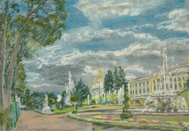 Выставка «Императорские Резиденции вискусстве пастели»