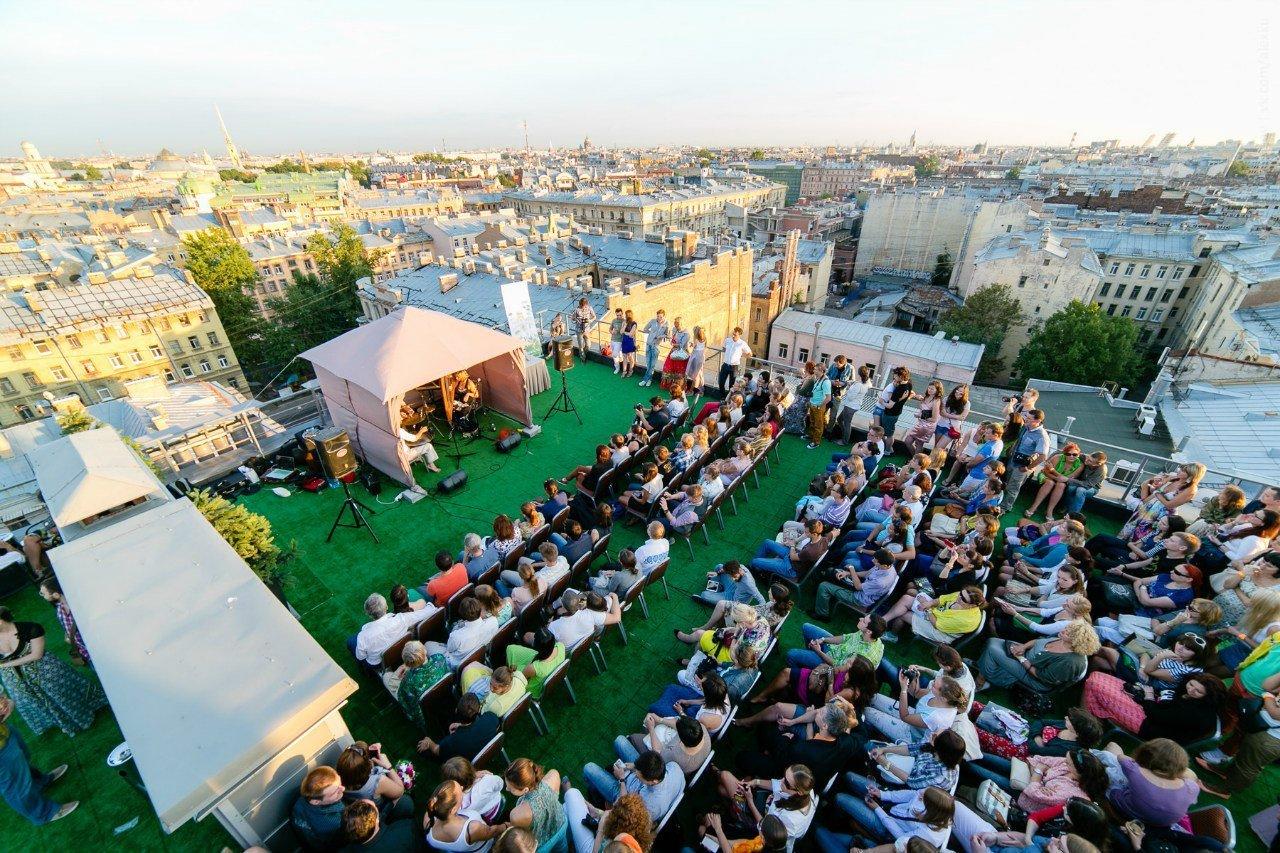 Фестиваль накрышах Roof Music Fest 2016
