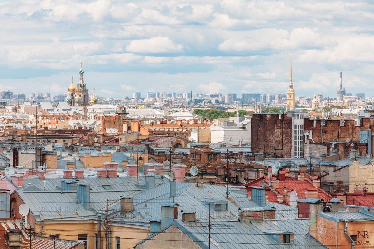 Групповые экскурсии покрышам вСанкт-Петербурге
