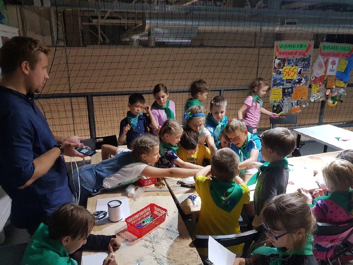 Детский лагерь полного дня «Летний научный клуб»