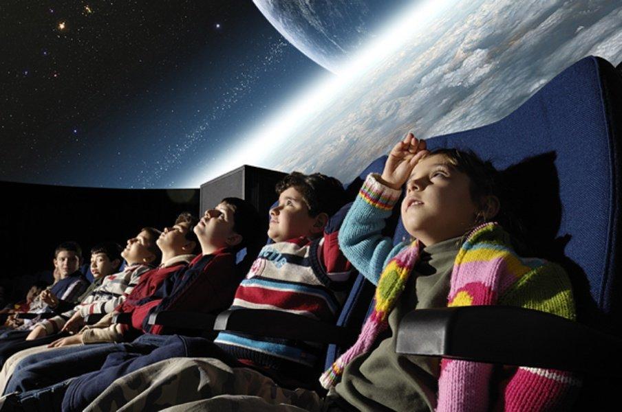 Льготные сеансы для детей вПланетарии