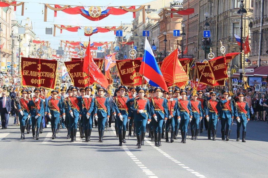 День Победы вСанкт-Петербурге 2019