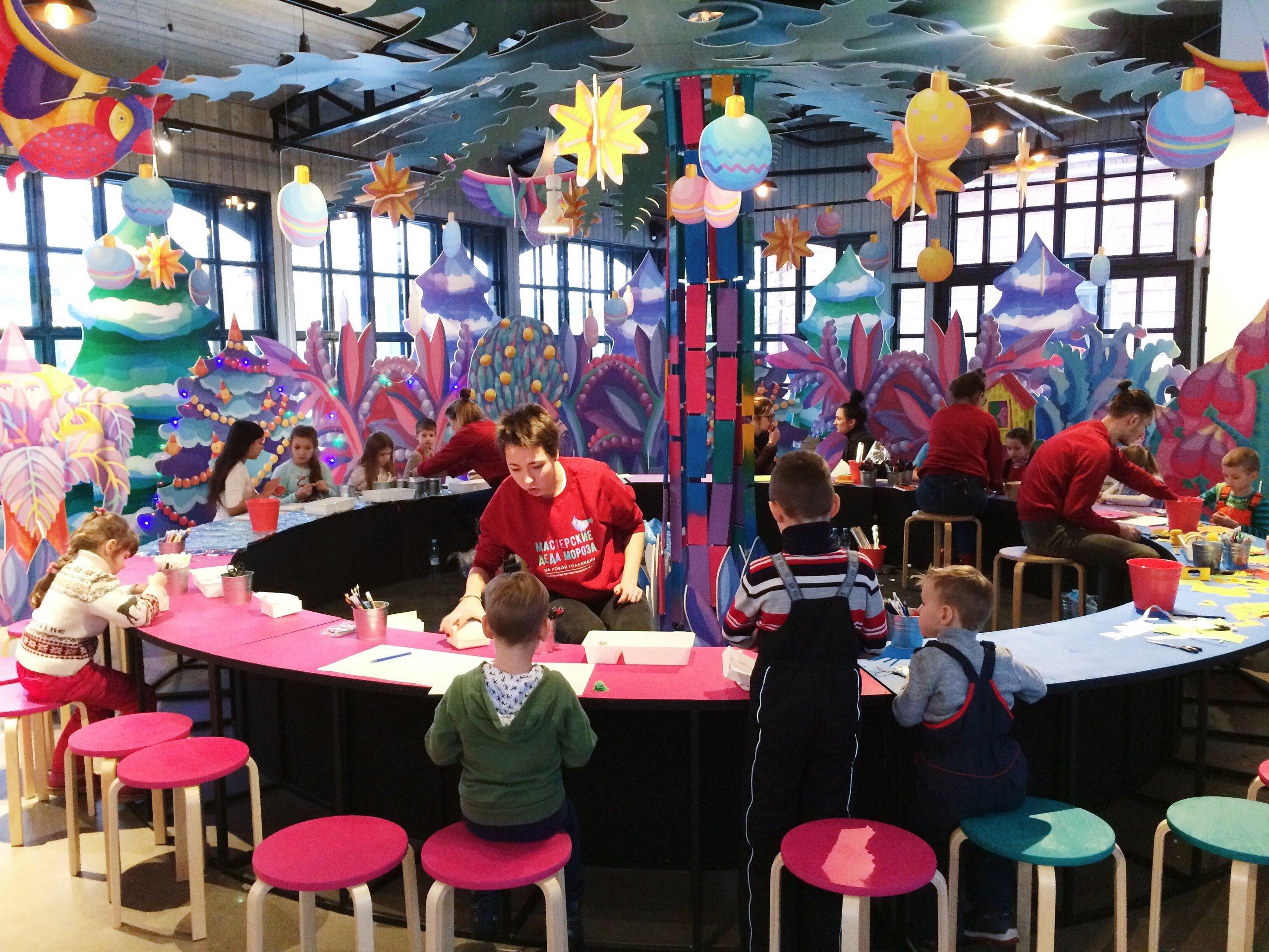 Мастерские Деда Мороза вНовой Голландии 2016
