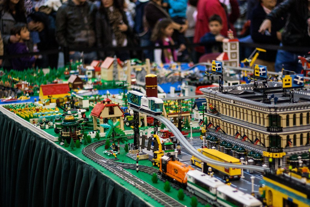 Праздник Лего вМЕГА Дыбенко