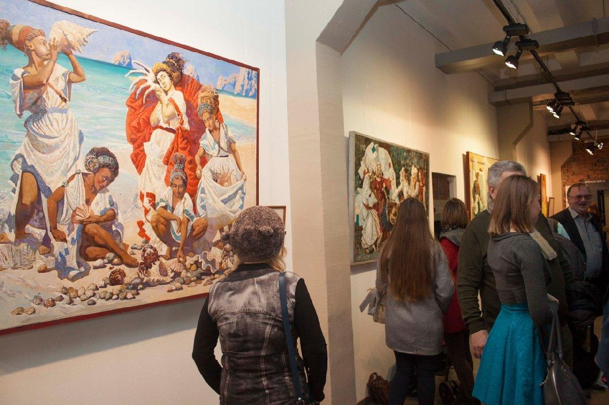 Выставка живописи «Женский взгляд– цвет радости»