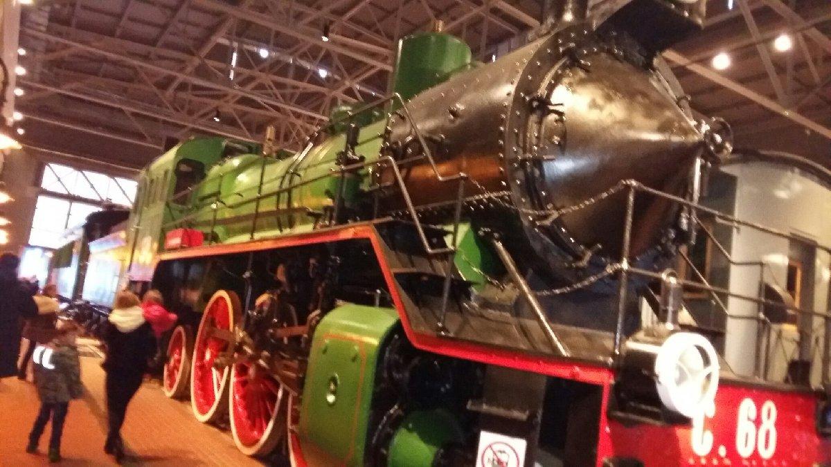 Открытие музея железных дорог вСанкт-Петербурге