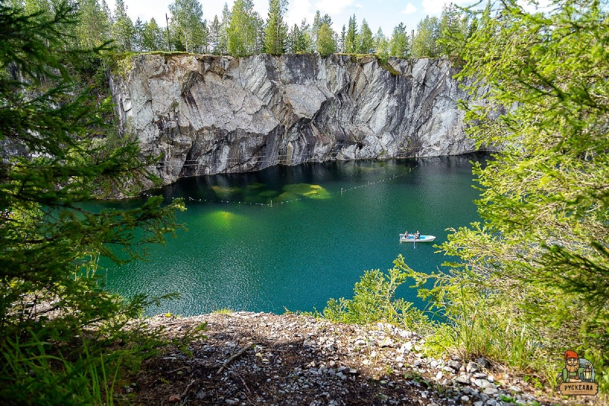 Экскурсия «К Жемчужине Карелии— Мраморному каньону»