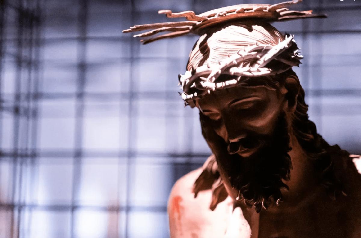 Выставка «Христос втемнице»