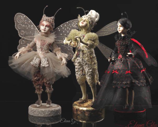 Выставка авторских кукол «Вне времени играниц»