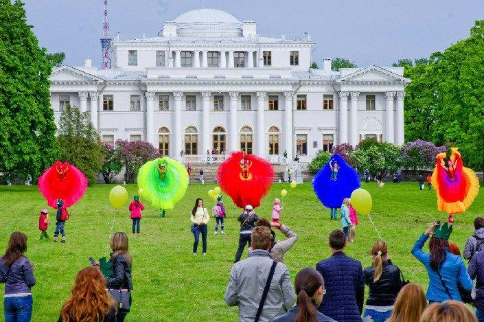 Фестиваль уличных театров «Елагин парк» 2017