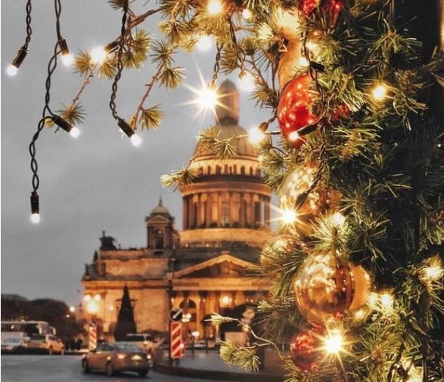 Новый год вСанкт-Петербурге 2020