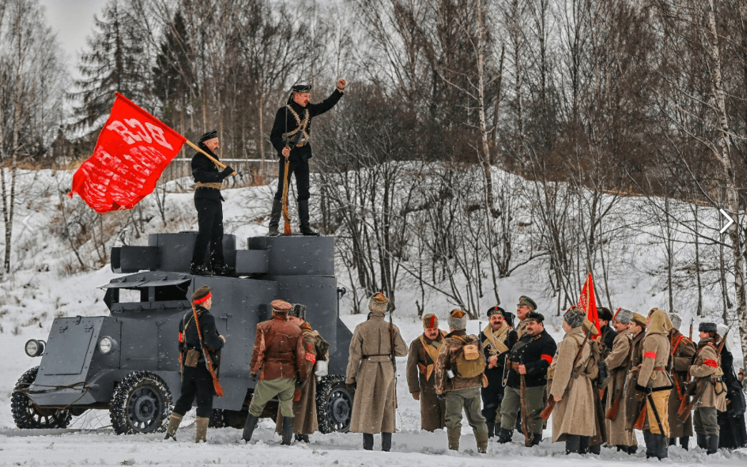 Военно-историческая реконструкция «За Петроград» 2017