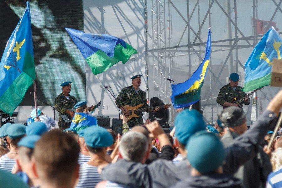 День Воздушно-Десантных войск вСанкт-Петербурге 2016