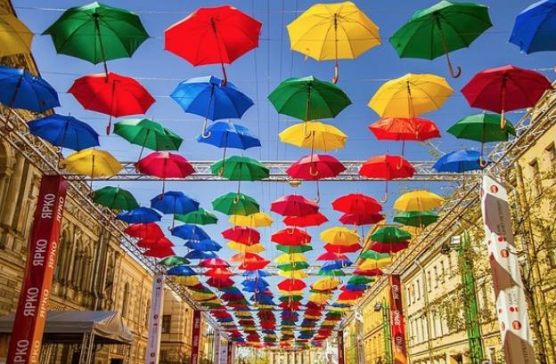 «Аллея парящих зонтиков— 2018»