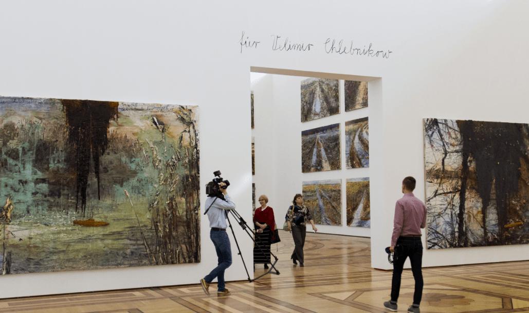 Выставка «Ансельм Кифер– Велимиру Хлебникову»