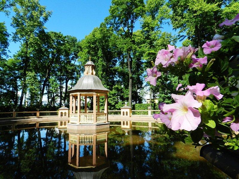 Праздник 9 мая вМихайловском иЛетнем Саду 2016